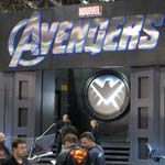NYCC 2011: Preview Night: Marvel Avengers booth