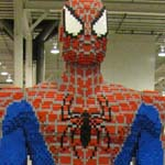 NYCC 2011: Preview Night: Spider-Man Mega Bloks statue