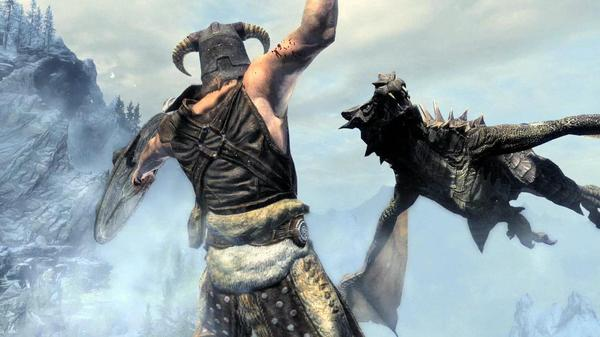 When Life Gives You Dragons, Make Dragonade: Scenes From Skyrim