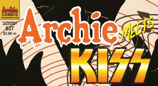 Archie Meets KISS by Francesco Francavilla Header