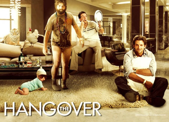 The hangover meet reality for The hangover tiger in the bathroom