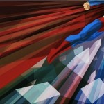 Liam Braziers Superman Print: Man Up!