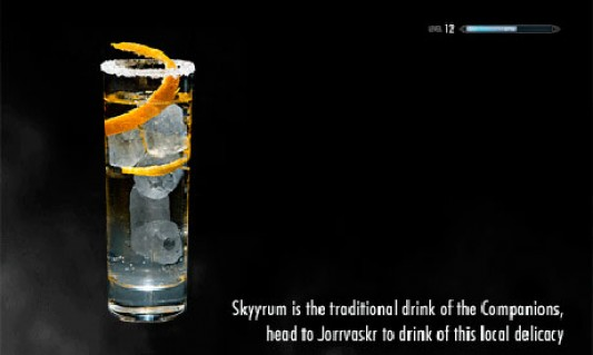 Skyrim Cocktail