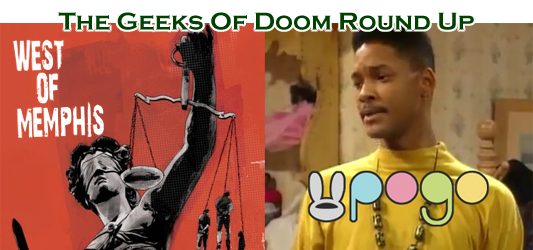 The Geeks Of Doom Round Up 2: West Of Memphis and Pogo