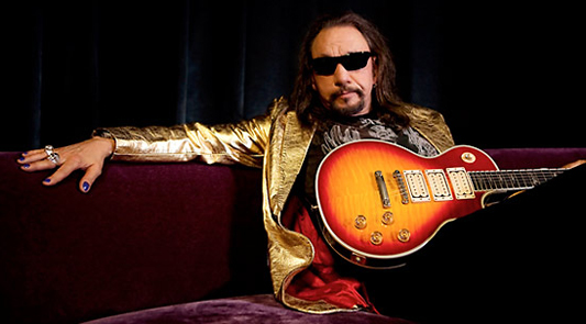 Ace Frehley from KISS