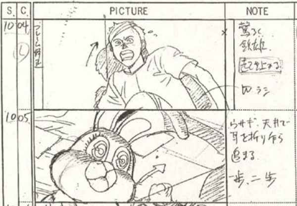 Akira (1988) Storyboard