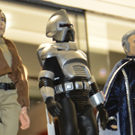 NYC 2012 Toy Fair: Classic Battlestar Galactica dolls