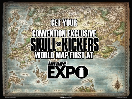 Skullkickers Map