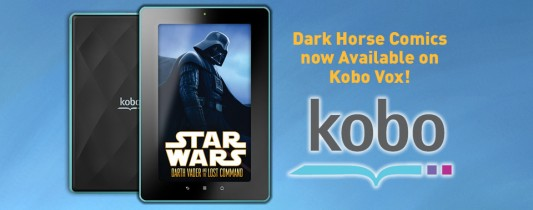 Dark Horse Comes To Kobo