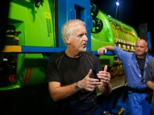 James Cameron Deepsea Challenge