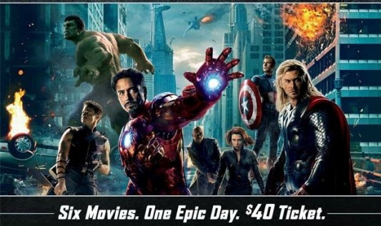 Marvel Movie Marathon Header
