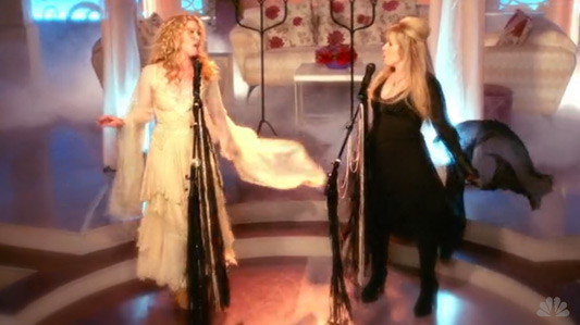 Stevie Nicks On NBC's Up All Night