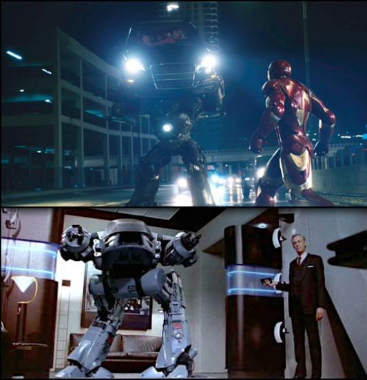 RoboCop Comparison to Iron Man