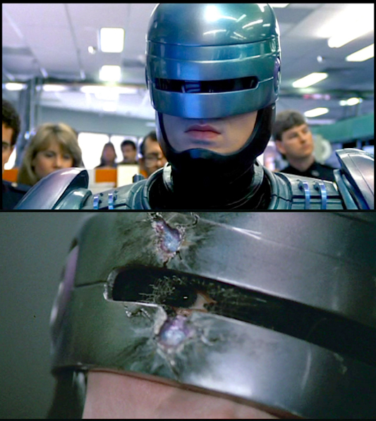 Robocop Visor and Eye Revealed