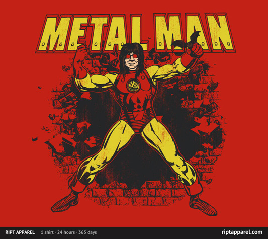 Ozzy Osbourne Iron Man Metal Man