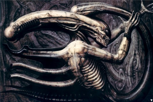 Prometheus - Alien Concept Art