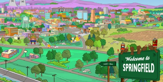 The Simpsons, Springfield