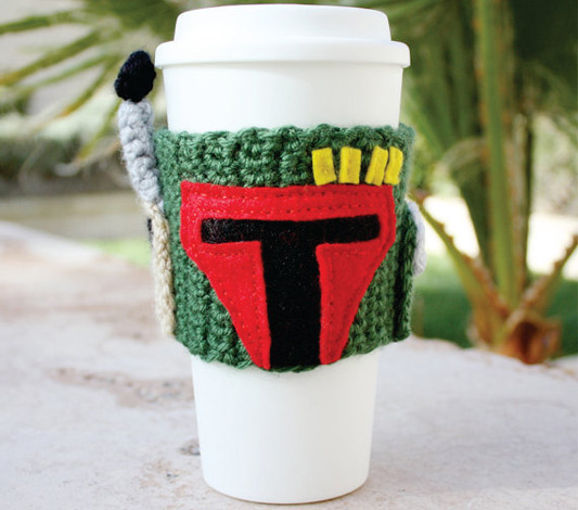 Boba Fett Coffee Travel Mug Cup Cozy