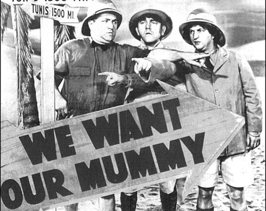 The Three Stooges: We Want Our Mummy