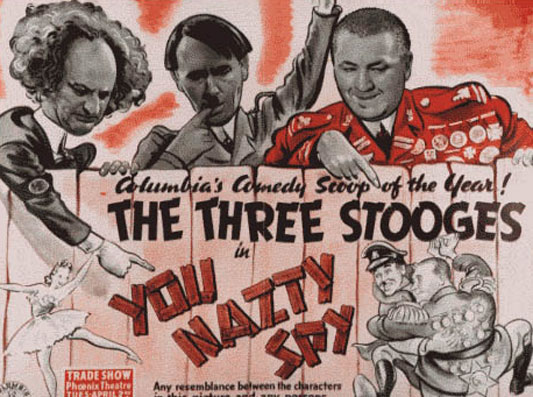 The Three Stooges: You Nazty Spy