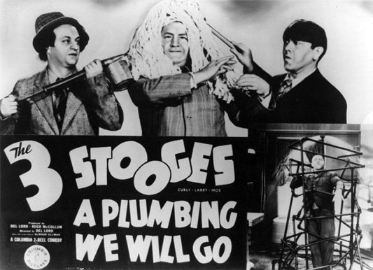 The Three Stooges: A Plumbing We Will Go