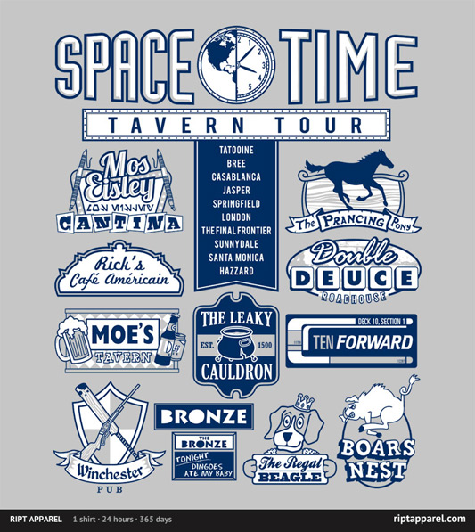 Space Time Tavern Tour