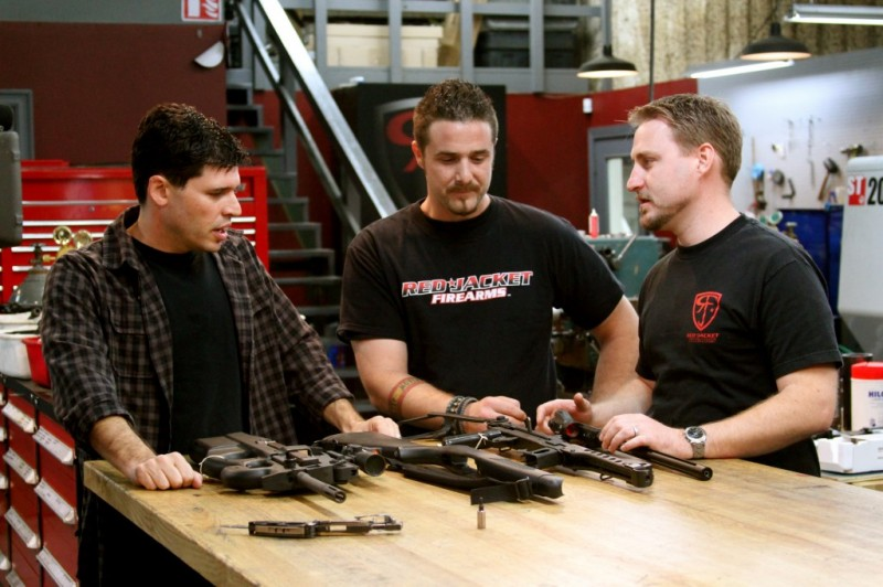 Max Brooks (left) On Sons Of Guns