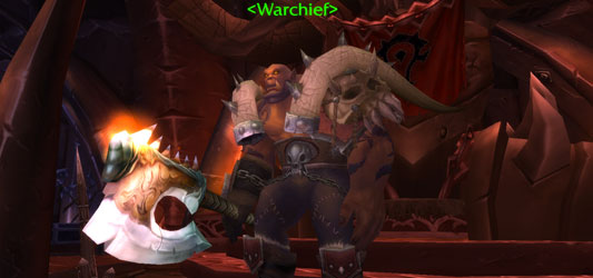 World Of Warcraft: Horde Warchief Garrosh Hellscream