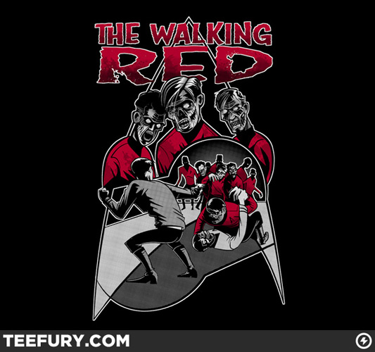 Star Trek The Walking Red