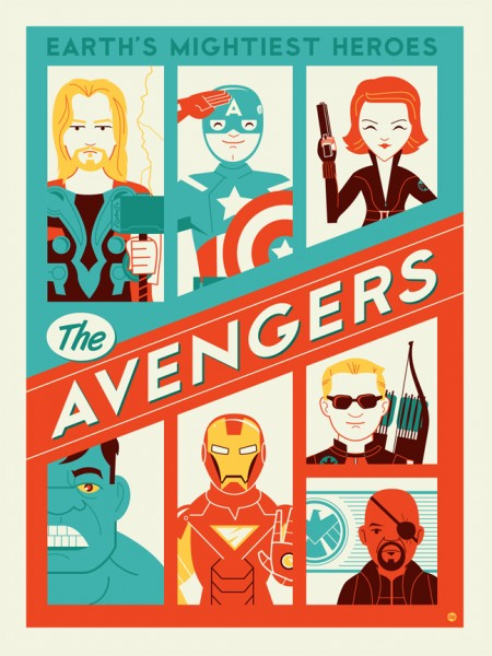 Dave Perillo's Avenger's Art Work