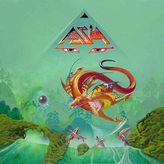 Asia XXX Roger Dean Album Cover Art
