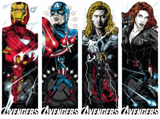 Rhys Coopers Avengers artwork