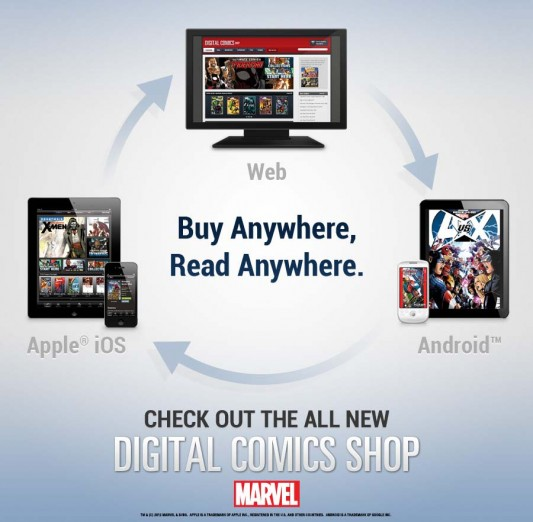 Marvel Comics Shop