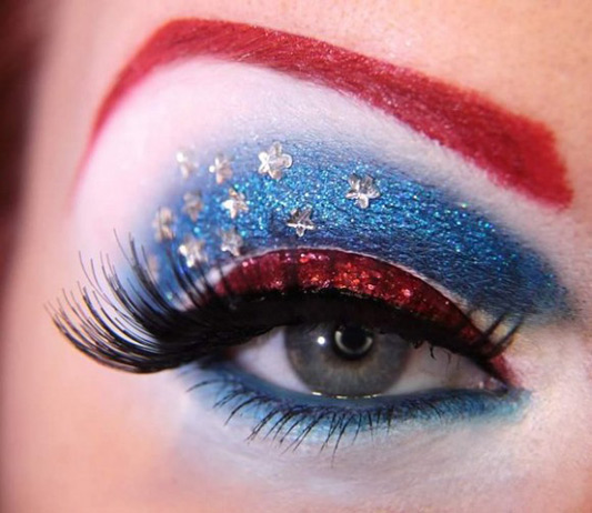 Avengers Captain America makeup