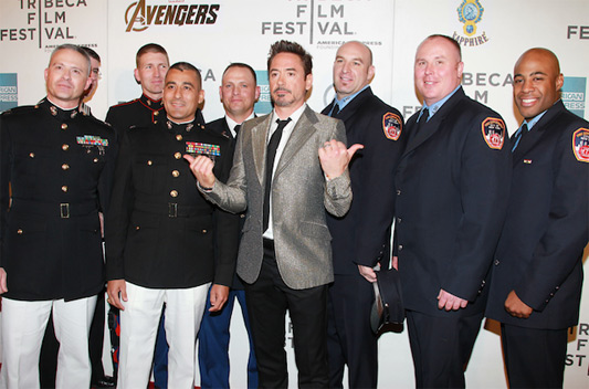 The Avengers Robert Downey Jr. Tribeca
