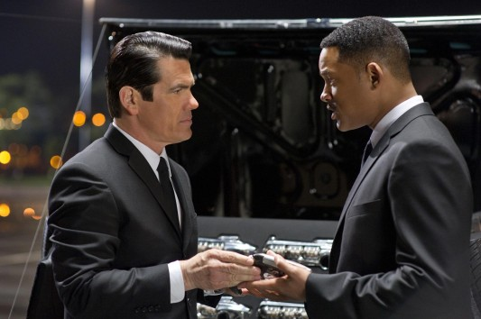 Men in Black III Brolin and Smith