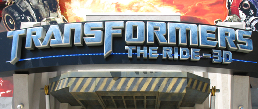 Universal Studios Hollywood: Transformers: The Ride 3D