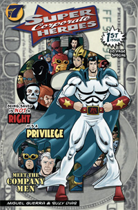 Super Corporate Heroes Cover