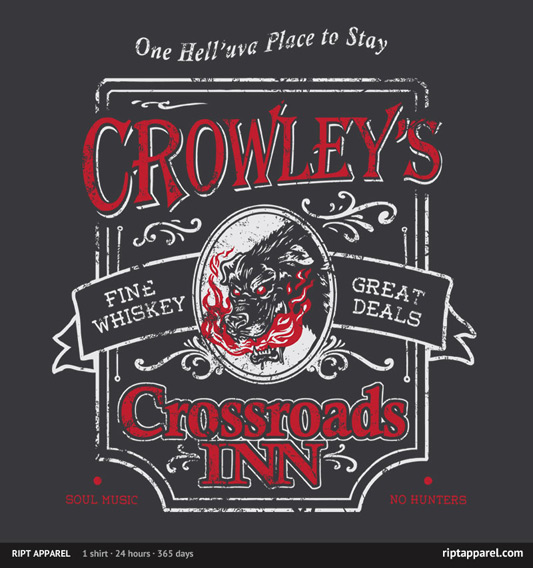 Supernatural Crowley's Inn