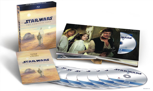 Star Wars The Complete Saga Blu-ray Box Set