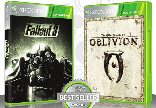Fallout 3 &amp; Oblivion Double Pack