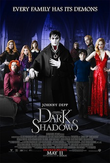 Dark Shadows Theatrical Poster