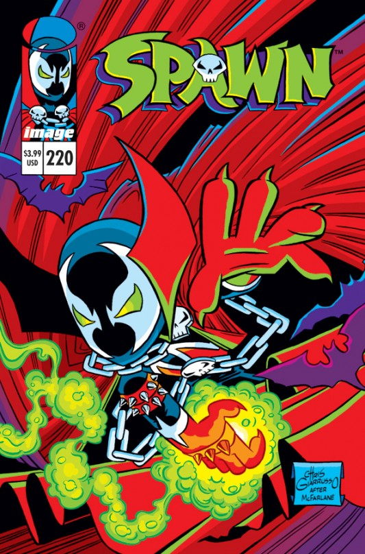 Spawn #220 by Chris Giarrusso