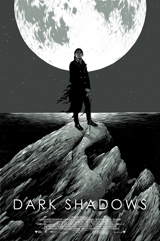 Dark Shadows Mondo Poster