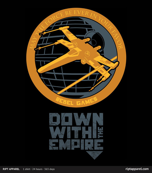 Star Wars Hunger Games Down With The Empire