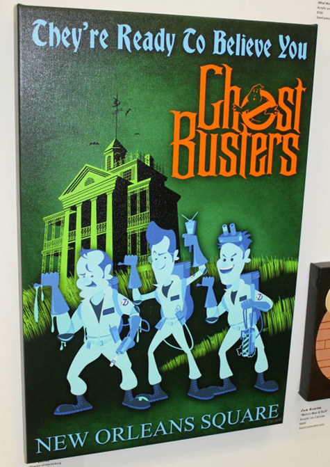 Ghostbusters - Haunted Mansion