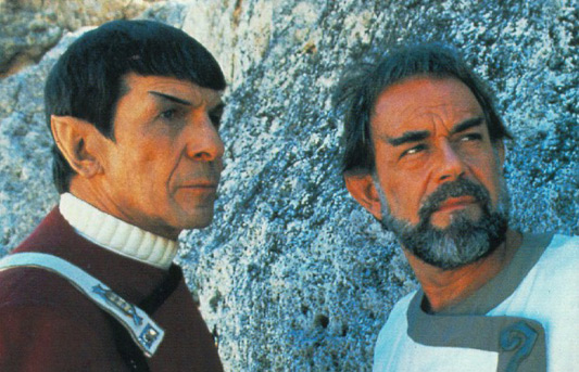 Spock and Sybok In Star Trek V