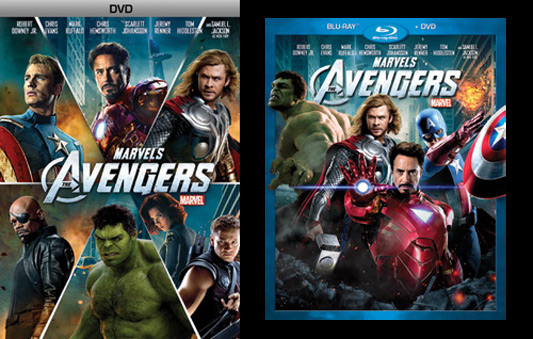 Avengers DVD and Blu-ray