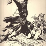 Frank Frazetta - Lord of the Rings Illustration