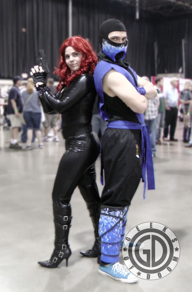 MCCC 2012 Cosplay: Black Widow, Sub-Zero